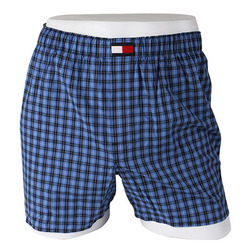 -Tommy Hilfiger- 88141 Cotton Trunk (Blue)