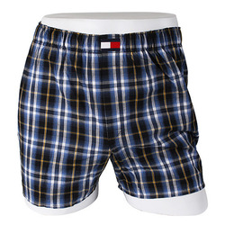 -Tommy Hilfiger- 88142 Cotton Trunk (Blue)