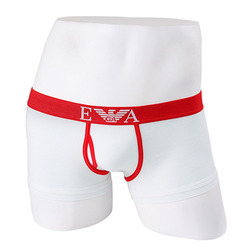 -EMPORIO ARMANI- 88696 Strech Cotton Trunk (Red Line)