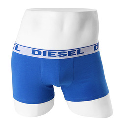 -DIESEL- 89284 Strech Cotton Boxer Trunk (Da Blue)