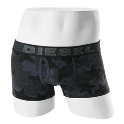 -DIESEL- 90013 Strech Cotton Boxer Trunk (Dd Denim Spear)