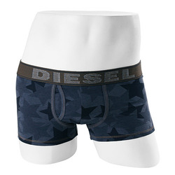 -DIESEL- 90014 Strech Cotton Boxer Trunk (Dd Denim Navy)