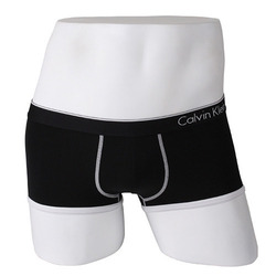 -Calvin Klein- 92096 Micro Fiber Low Rise Trunk (Black)