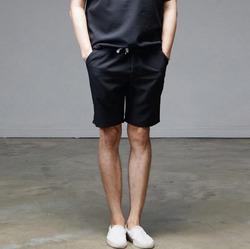 95619 레슬리 밴딩 스웨트 팬츠 (Black)