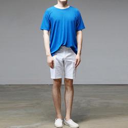 95732 에어리즘 슬랍 하프슬리브 티셔츠 (5Color)