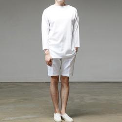 95749 와플 보트넥 티셔츠 (3Color)