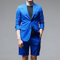 95758 마르첼로 밀라노 싱글 자켓 (Blue)